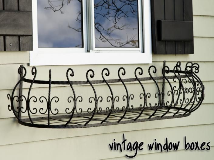 Vintage Window Boxes - Antique & Rustic Styles from Windowbox.com ...