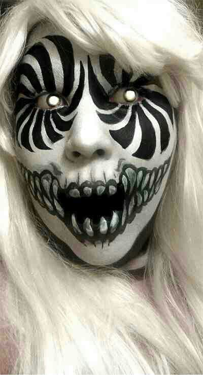 59 best awesome makeup images on Pinterest | Halloween makeup ...