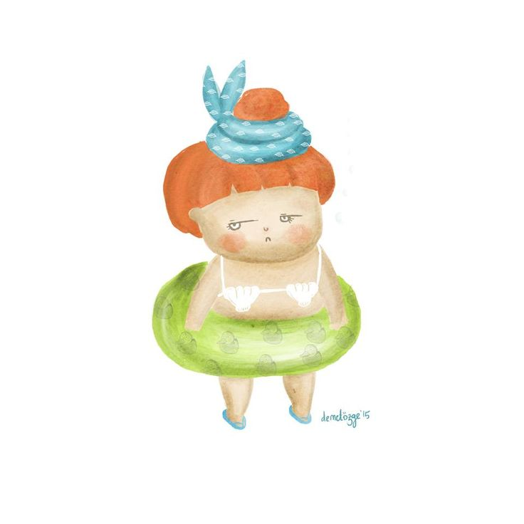 #childrenbook #children #doodle #digitalpainting #painting #digital #girl #little #illustration #illustrasyon #watercolor