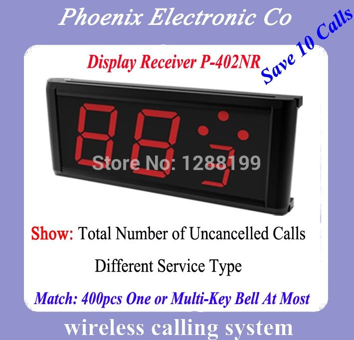(112.00$)  Watch here - http://aipga.worlditems.win/all/product.php?id=1916420100 - Restaurant Wireless Service Calling System P-402NR For Restaurant, Hotel, Coffee House,DHL Free Shipping Long Warranty Time