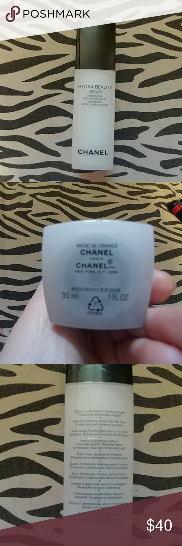 Chanel hydra beauty serum Never used. Brand new. Gives radiance & hydration to the skin. CHANEL Makeup Luminizer