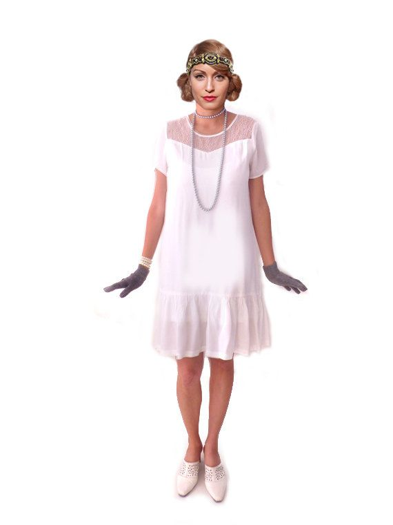 17 bästa idéer om White Flapper Dress på Pinterest