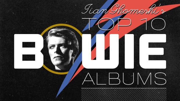 Self-proclaimed David Bowie addict, Jian Ghomeshi gives us his essential Bowie albums. He really knows his stuff.