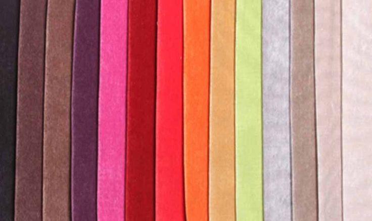 Muestra de colores de pana para revestir tus almohadones for Telas para sillones