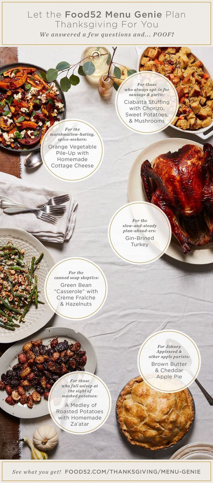 A practically magical menu maker that does the heavy lifting for you