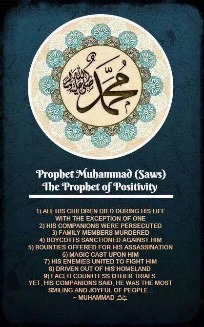 Islam: Prophet Muhammad :)