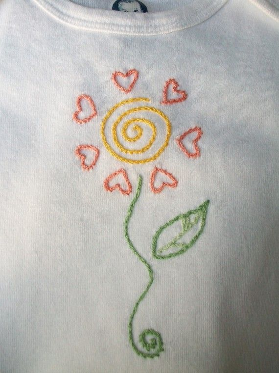 Images about hand embroidery for baby on pinterest