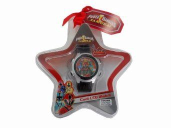Power Rangers Samurai Cool LCD Watch