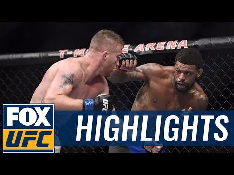 Michael Johnson vs. Justin Gaethje | TUF FINALE HIGHLIGHTS