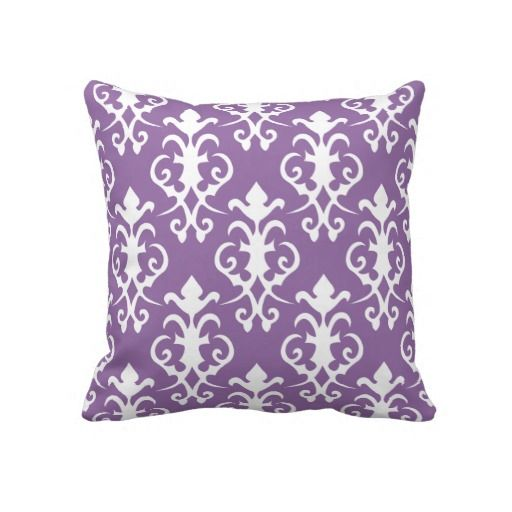 Purple Decorative Bedroom Pillows : 18 best Lay on my pillows images on Pinterest Purple throw pillows, Purple throws and Bedroom ...