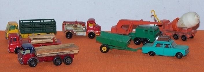 Vintage Trailers Imagaes Vintage Lesney Toys Trucks Car