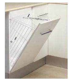 #cocinas Tipos de muebles para organizar tu cocina. Cesto para la ropa  Acce...