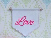 Fahne_Wimpel ♥ Love ♥