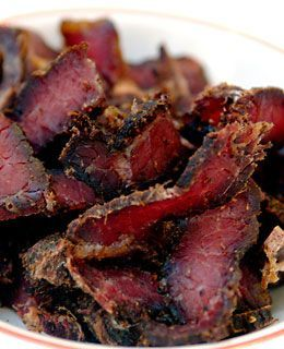 Biltong - tasty, healthy, south african snack. Make yours at home with these instructions..