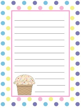 the best birthday wishes to teacher ideas happy  writing paper birthday use this birthday paper in your writing station for students