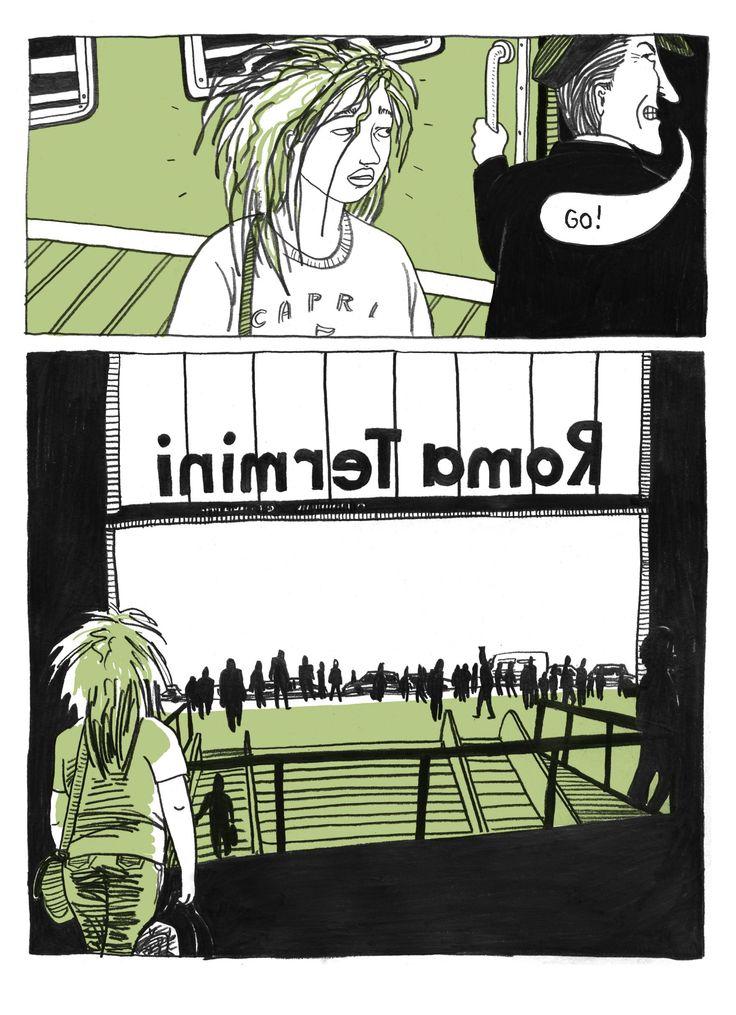 Ulli Lust - Vandaag is de laatste dag van de rest van je leven http://www.volkskrant.nl/boeken/autobiografische-strip-vol-aangename-ironie-en-zelfrelativering~a3817205/