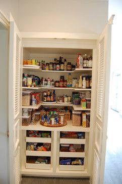 enlarge our closet and make into pantry inset kitchen breakfast room traditional - Closet Pantry Design Ideas
