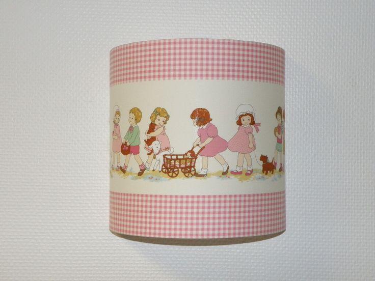 applique luminaire tissu Lecien petite Marianne pour chambre de fille : Décoration pour enfants par anne-claude-c
