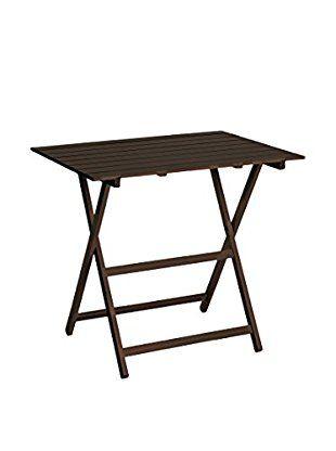 Oltre 25 fantastiche idee su tavolo pieghevole su for Tavolo marrone scuro