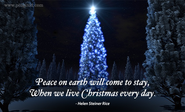 Quote for Sharing: Helen Steiner Rice on Christmas