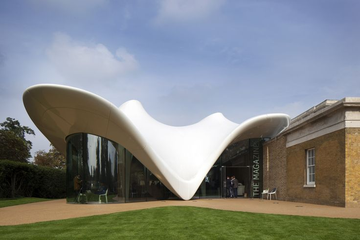 Gallery of The Serpentine Sackler Gallery / Zaha Hadid Architects - 1