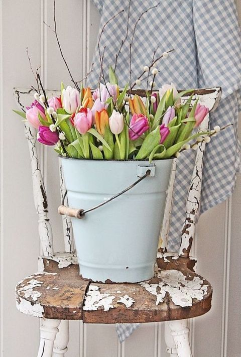 DIY Home Decor Ideas - Beautiful Spring Home Decor Ideas that you can make at home!