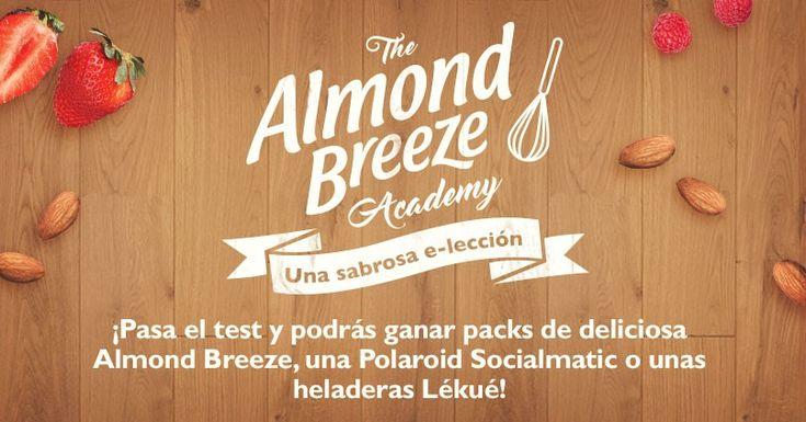 Llévate un montón de premios con Almond Breeze® Academy