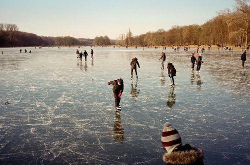 ice skating Used to skate on Napolitano's pond on Lake Street in Ramsey, NJ