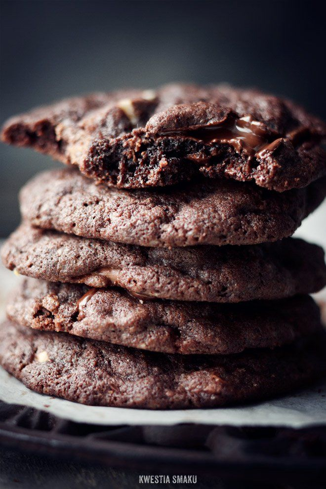Czekoladowe chocolate chip cookies | Kwestia Smaku