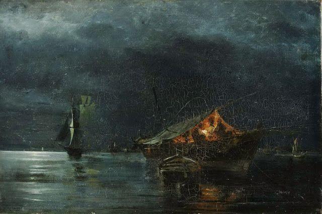 Κωνσταντίνος Βολανάκης: Ο ζωγράφος της θάλασσας! | synoro news-Νυχτερινό -1866-75