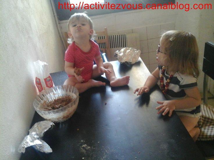 CUISINE: Biscuit Patte d'ours (boucle d'or)