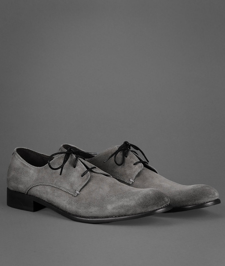 This suede oxford by John Varvatos is just smooth