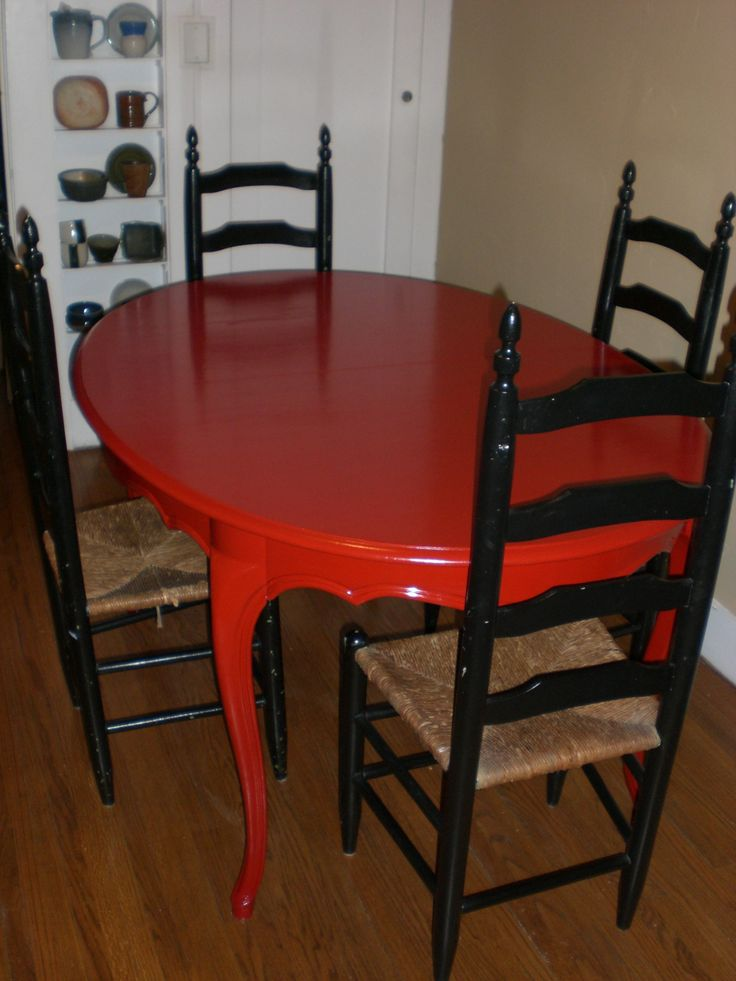 Red Kitchen Tables - Kitchen Backsplash Design Ideas Check more at http://www.entropiads.com/red-kitchen-tables/
