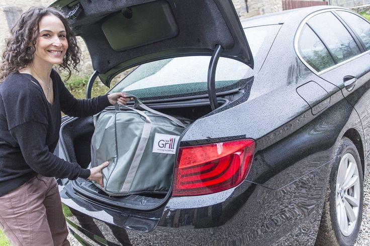 The WeGrill bag fits perfectly in the trunk of your car. You can grill everywhere! www.wegrill.eu #bbq
