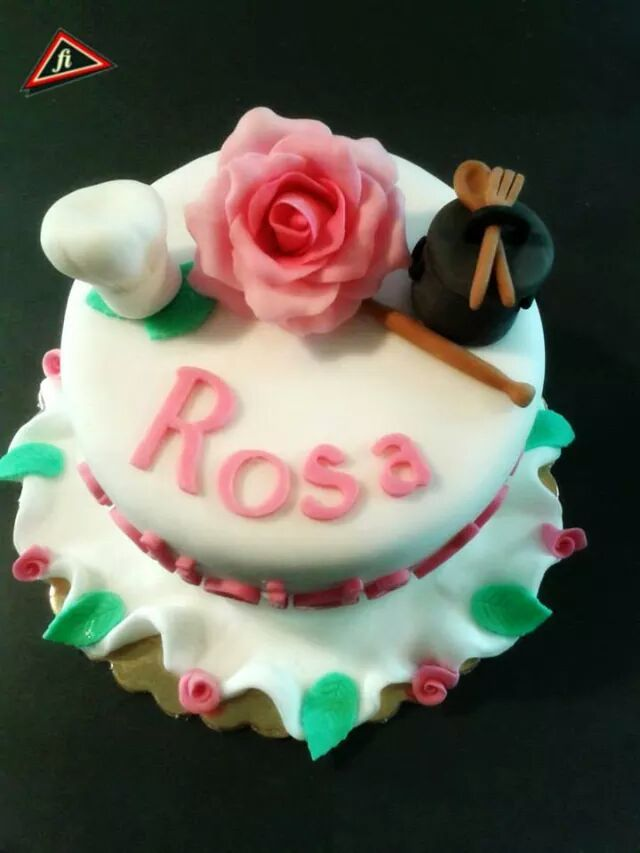 a cake for a chef