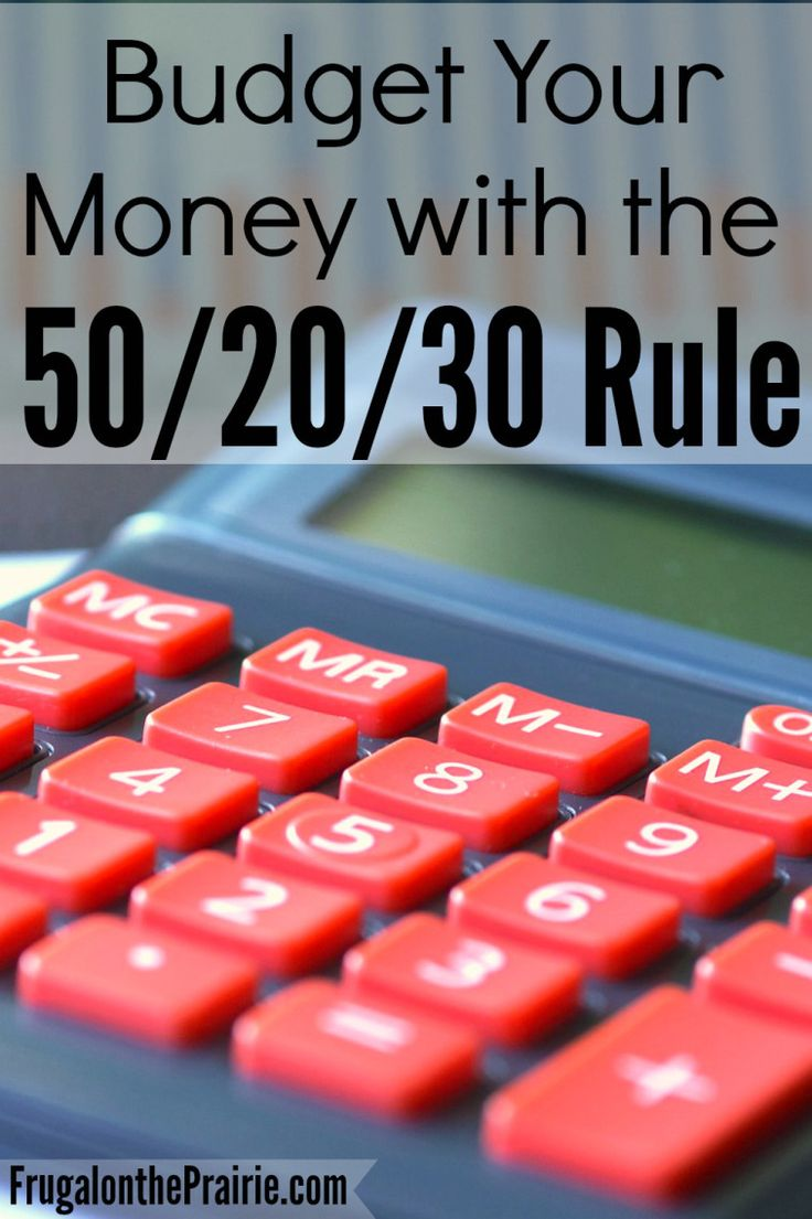 50/20/30 Budgeting Rule. Good idea to look and see if we already follow this.