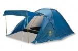BRUNNER CALYPSO 4  Moderan šator sa nadstrešnicom, vrlo otporan na vjetar. Učinkovita ventilacija zahvaljujući velikim otvorima na vrhu.  Cijena: 989,00 kn  http://www.kampoprema.com/satoriza4iviseosoba-calypso4-p-196.html