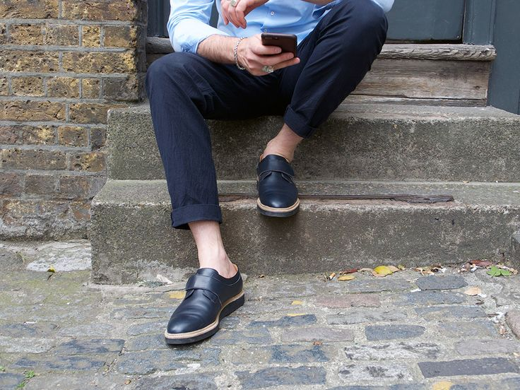 Brogue inspired shoes from Sustainable Swedish footwear label Stig Percy