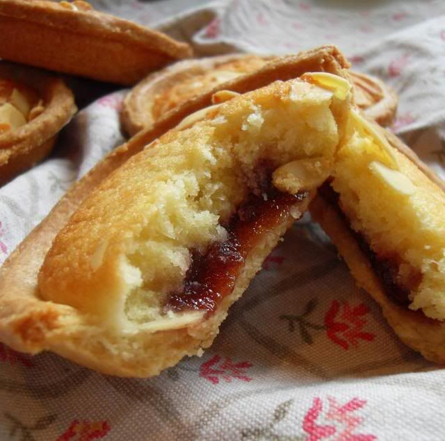 Bakewell Tarts for afternoon tea