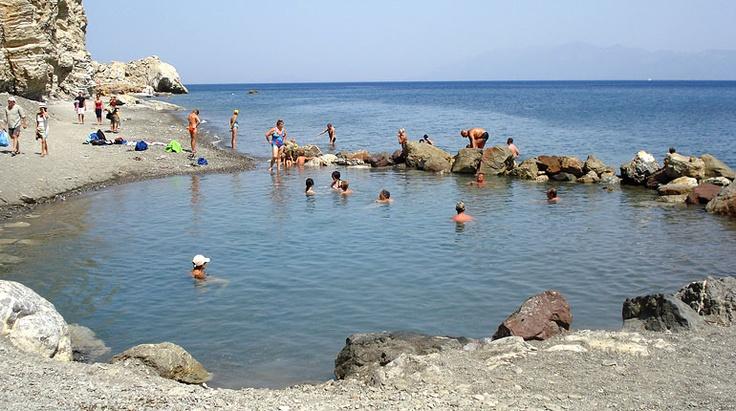 Ein Besuch der Empros Therme ist absolute Pflicht bei einem Kos Aufenthalt. Griechenland.