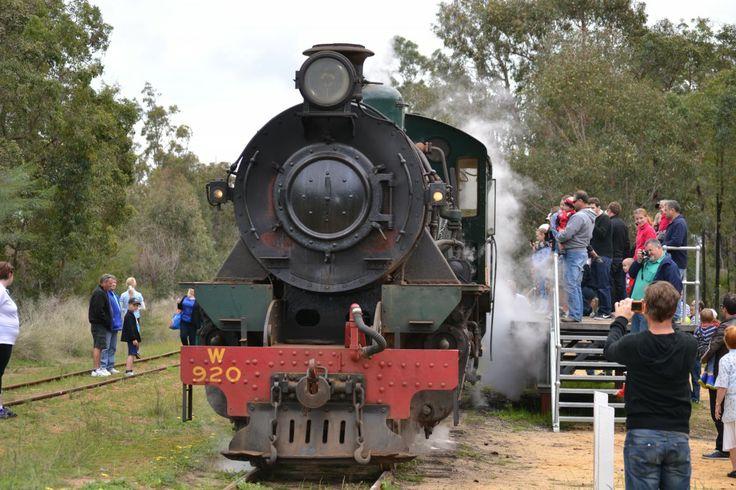 Dwellingup to Hotham Valley Train Ride http://www.buggybuddys.com.au/magazine/read/all-aboard-to-dwellingup-hotham-valley-train-ride_320.html