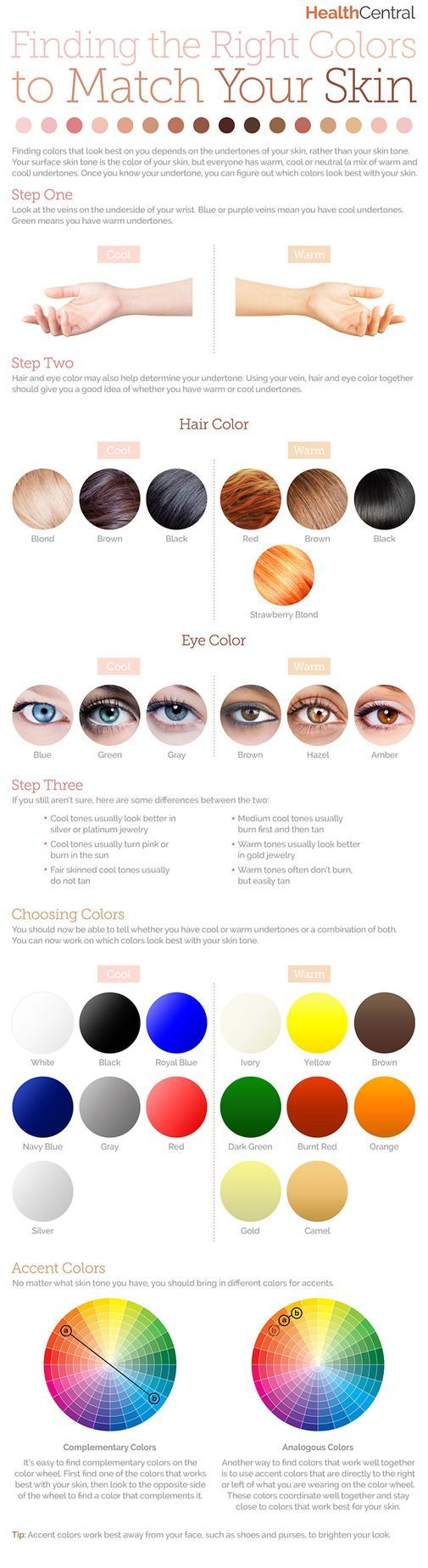 How to find the right colors to match your #skin: (#INFOGRAPHIC) https://www.youniqueproducts.com/JodieMichelle/products/view/US-42016-01#.VyeHQnErKVM