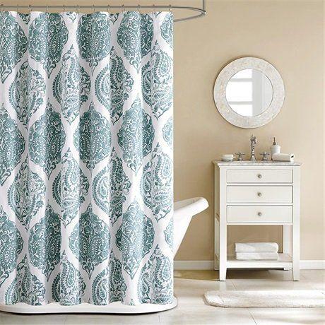 Curtains Ideas blue paisley shower curtain : 17 Best images about Blue Paisley Shower Curtain on Pinterest ...
