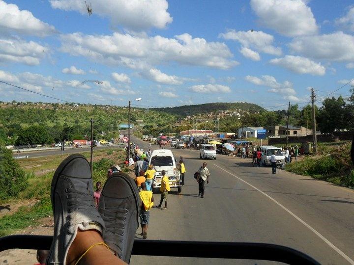 Mozambique - South Africa border
