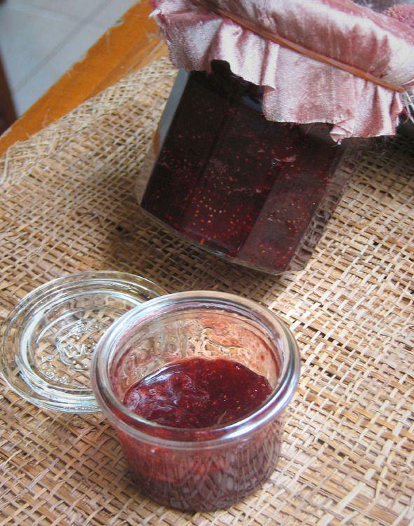 Confiture de fraises au vinaigre balsamique