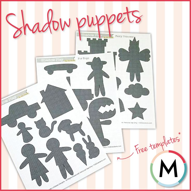 free shadow puppet templates - 17 best images about ideas shadow puppets on pinterest