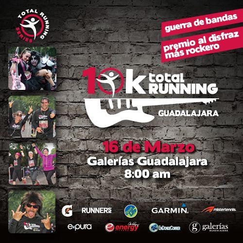 ¡Corre, canta, baila y rockanrolea! #Guadalajara  Inscríbete en cualquier sucursal MisterTennis