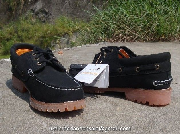 Black Leisure Timberland Earthkeepers 3 Eye Boat Premium Mens For Sale $90.99