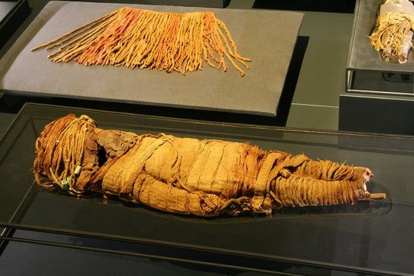 Momias Chinchorro o cultura Arica