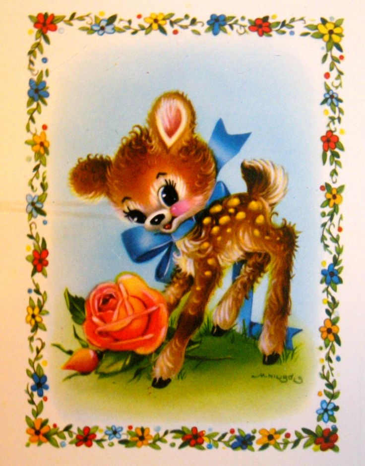 Cute Deer Card